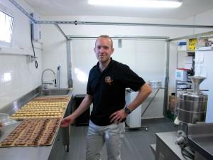 Fabien Ehret, pâtissier, Alsace