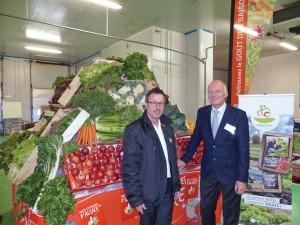 Thierry Faller, directeur du site de Mulhouse et Jacques Wirrmann PDG