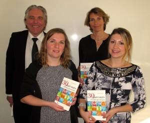 René Hans, Cécile Hans, Marie Henry et Roxane Weiss