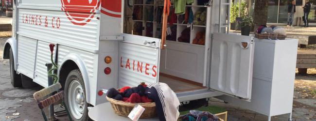 Laines & Co, le truck 100% laine