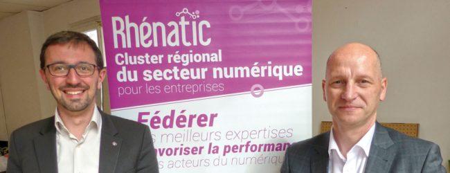Rhenatic, cluster, numérique, Alsace
