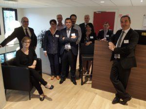 L'équipe du Crédit mutuel Nouveau Bassin