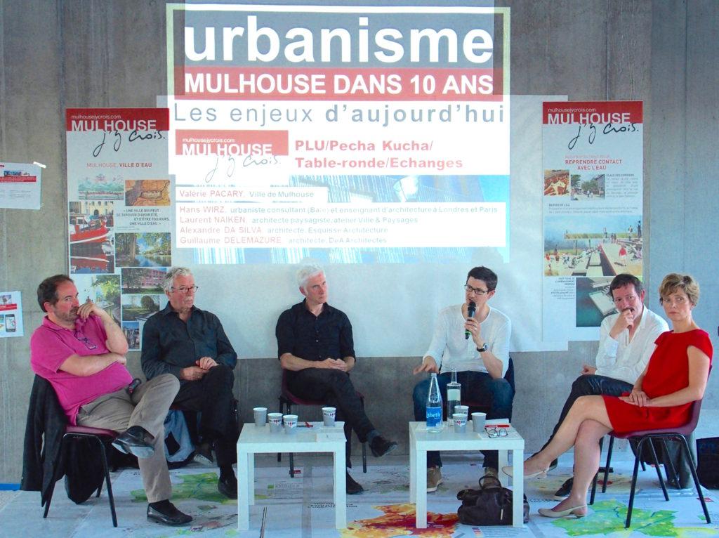 - Hanz Wirz (urbaniste – Bâle) - Laurent Naiken (atelier Ville & Paysages) - Guillaume Delemazure (DeA Architectes) - Alexandre Da Silva (Esquisse Architecture)