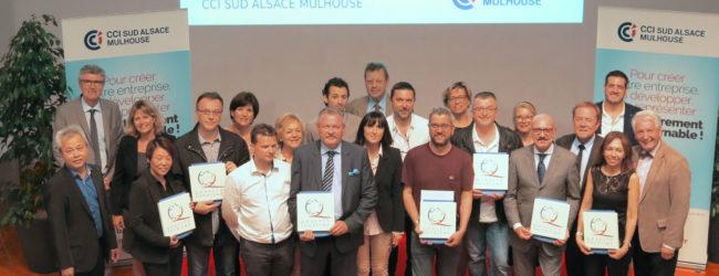 label Qualité TourismeTM, remise prix restaurants CCI Mulhouse
