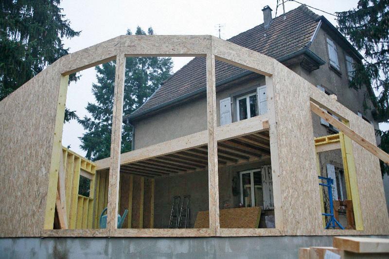 Pouss 39 murs extension de maisons pour particuliers for Extension maison 3 murs
