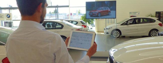 BMW, application numérique, service client