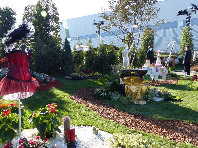 Folie 39 flore aux journ es d 39 octobre au parc expo mulhouse for Jardin 7 peches capitaux