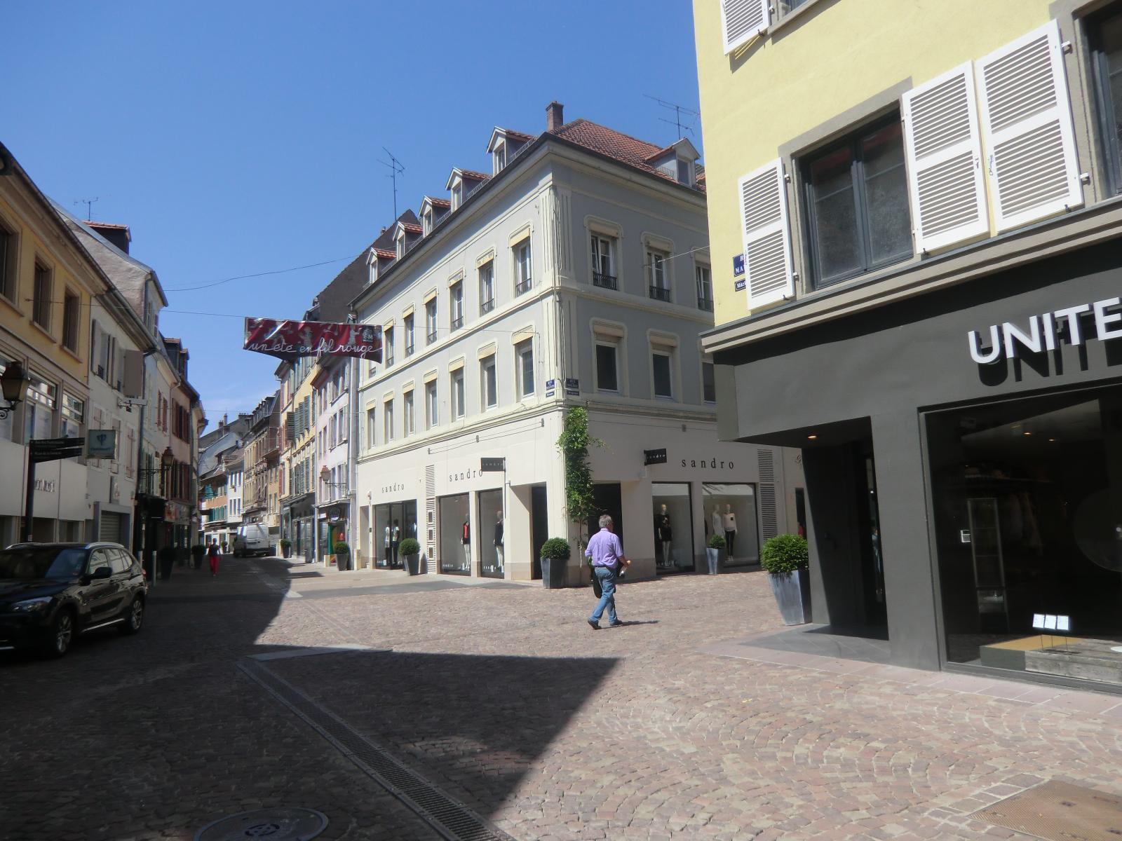 Commerce la belle dynamique de mulhouse le p riscope - Chambre des commerces mulhouse ...